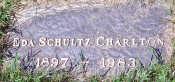 Eda's tombstone