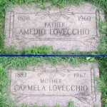 Tombstones of Amedio &amp; Carmela