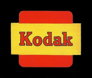 1950s Kodak logo