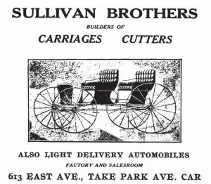 1910 Sullivan Bros. ad