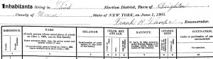 Part of the 1905 census header