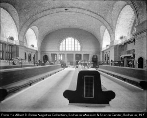 Waiting room - before the station opened