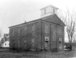 The old Penfield Presbyterian Church