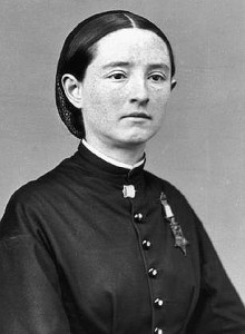 Dr. Mary Walker with her Medal of Honor