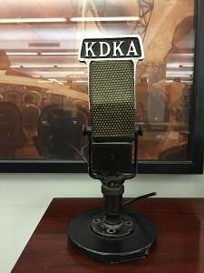 KDKA_microphone_on_display