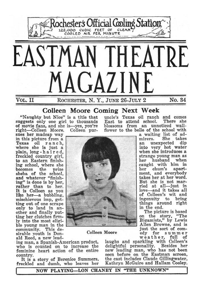 eastman-theatre-magazine